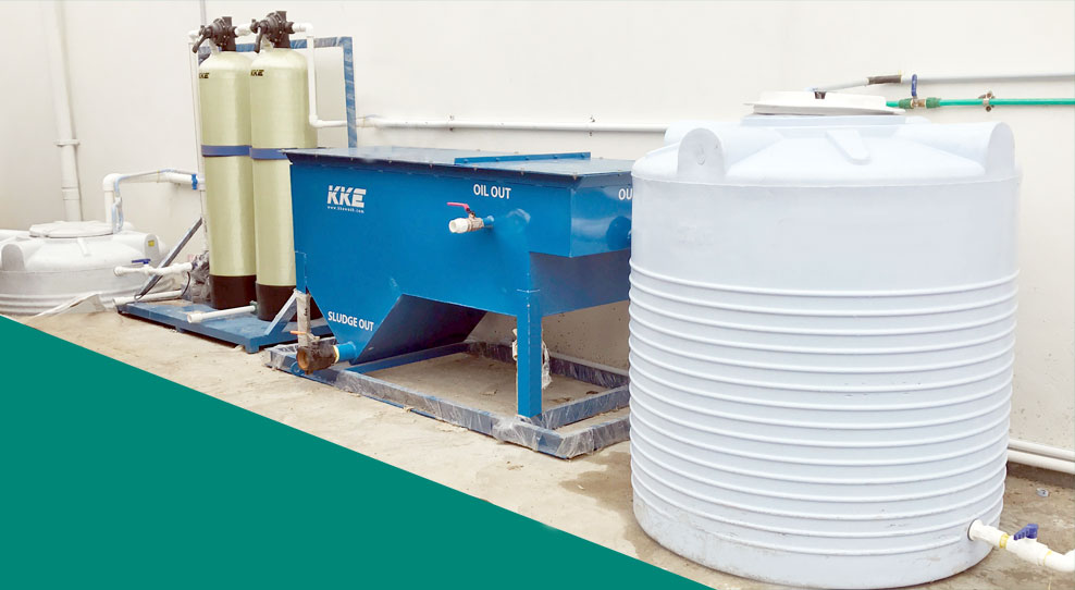 Oil Sludge Separator - Wash Water Recycling System